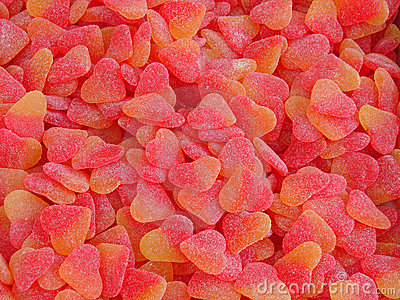 Hearts jellies