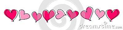 Hearts line / divider