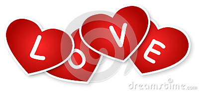 Hearts And Love Sign