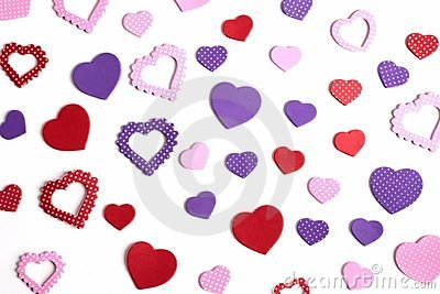 Hearts in many shapes