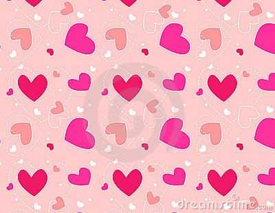 Hearts pattern /Textile design