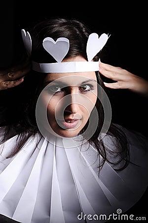 Hearts queen