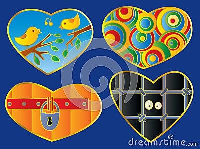 Hearts set: