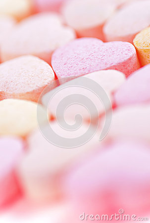 Hearts shaped Sugar Pills.