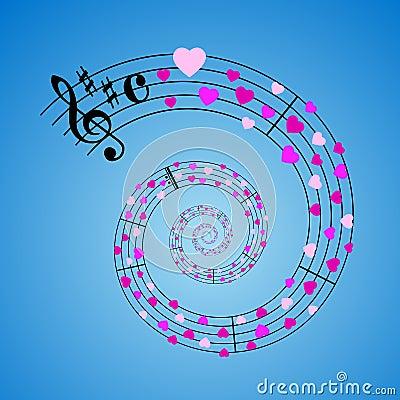 Hearts sheet music