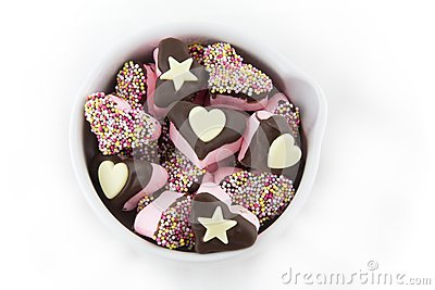 Hearts and Stars Marshmallows