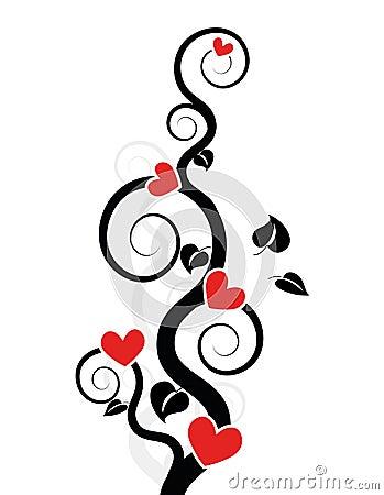 Hearts Tree / vine