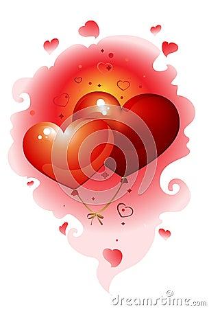 Free Hearts_nebula Royalty Free Stock Images - 12298679
