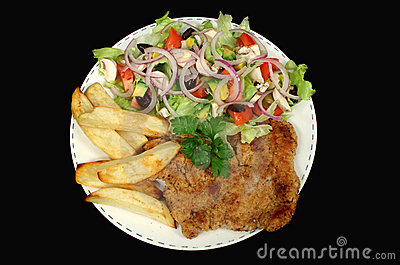 Hearty Chicken Schnitzel 1