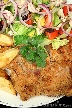 Hearty Chicken Schnitzel 2
