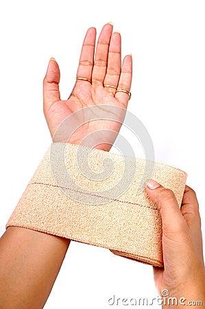 Free Heat Bandage Royalty Free Stock Photography - 10314607