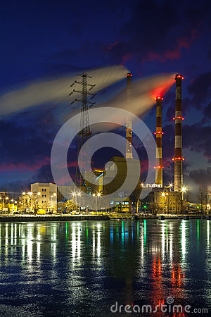 Free Heat Power Station Stock Images - 33966474