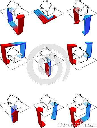 Heat pump diagrams
