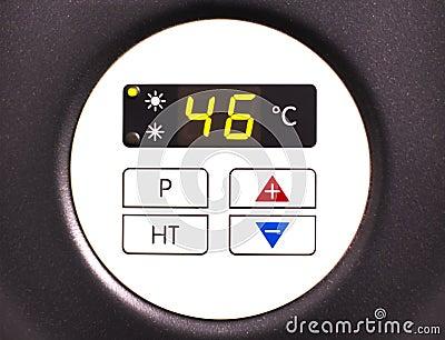 Heat pump display