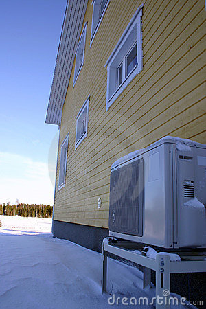 Heat pump warming