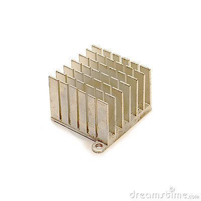 Heat sink isolated