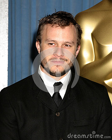 Heath Ledger Editorial Stock Image