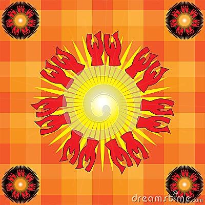 Heathen sun