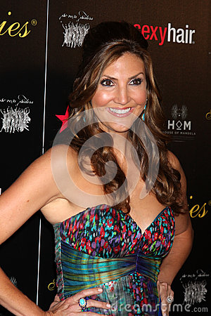 Heather McDonald arrives at the 37th Annual Gracie Awards Gala Editorial Image