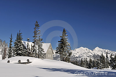 Heather Meadows Visitor Center in Mt. baker
