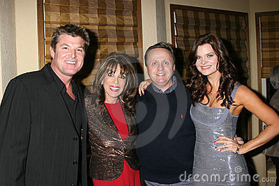 Heather Tom, Kate Linder, Michael Maloney, Winsor Harmon Editorial Stock Photo
