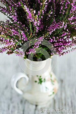 Heather in the vase