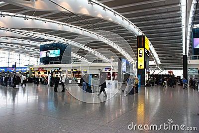 Heathrow airport Editorial Stock Image