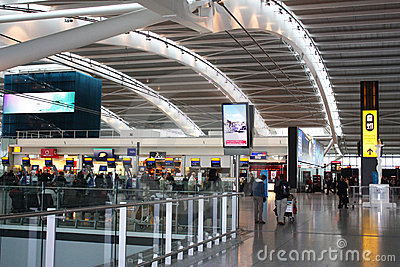 Heathrow airpot Editorial Stock Image