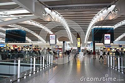 Heathrow airpot Editorial Image