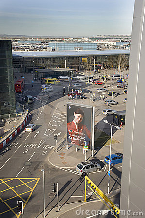 Heathrow terminal 3 Editorial Stock Photo