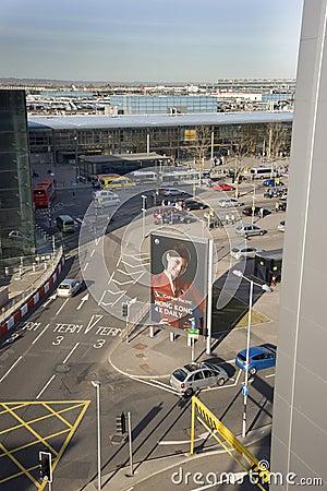 Heathrow terminal 3 Editorial Stock Photo
