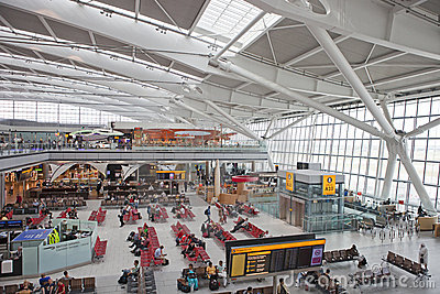 Heathrow Terminal 5 Editorial Image