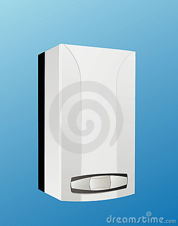 Free Heating Boiler Vector Stock Photography - 15347442