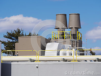 Heating and cooling ventilation system