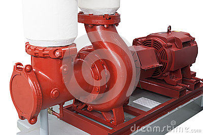 Heating water pump