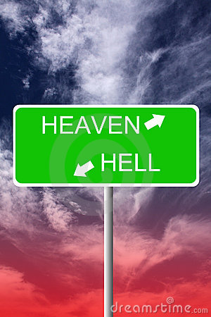 Free Heaven And Hell Stock Photo - 17173050