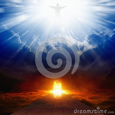 Free Heaven And Hell Royalty Free Stock Images - 43807179