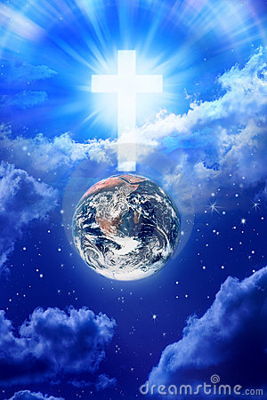 Free Heaven Cross Earth Religion God Royalty Free Stock Images - 15347369