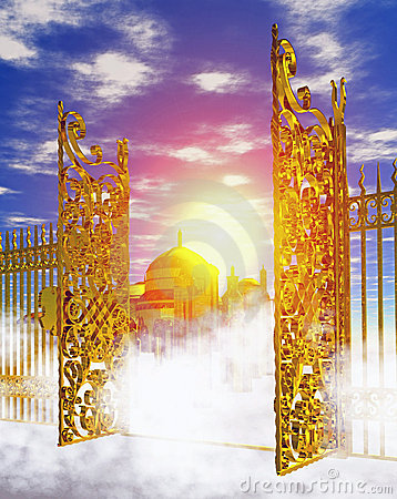 Heaven_gate.jpg Stock Image - Image: 6295771
