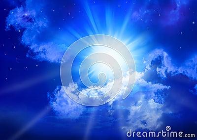 Heaven Sky Sun Christmas Star