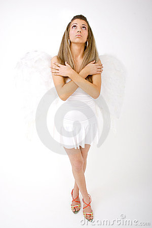 Free Heavenly Angel Royalty Free Stock Photos - 1420258
