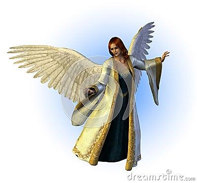Free Heavenly Angel Stock Photography - 1486132