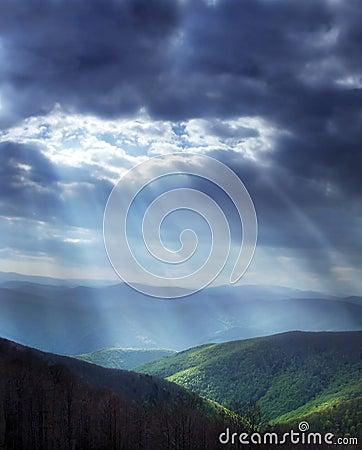 Free Heavenly Light Royalty Free Stock Photo - 5503915