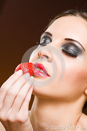 Heavenly strawberry.