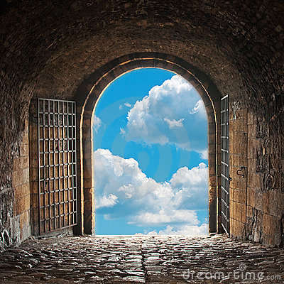 Free Heavens Gate Royalty Free Stock Images - 21975789