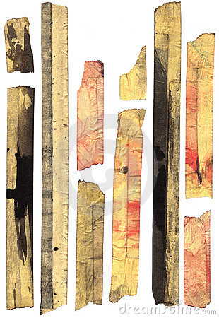 Free Heavily Stained Old Masking Tape Royalty Free Stock Photo - 4900575