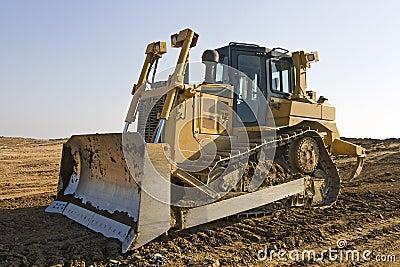 Heavy bulldozer