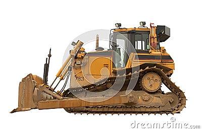 Heavy duty bulldozer