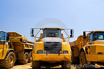 Heavy duty construction trucks