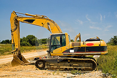 Heavy duty excavator